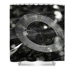 Spinning My Web Shower Curtain