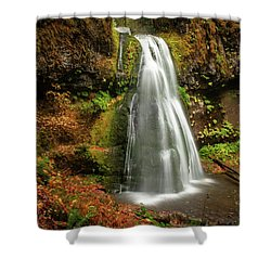 Spirit Falls Horizontal Shower Curtain