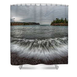 Split Rock Lighthouse State Park Shower Curtain