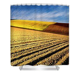 Spring Fields Shower Curtain