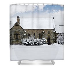 Spring Grove Chapel Shower Curtain