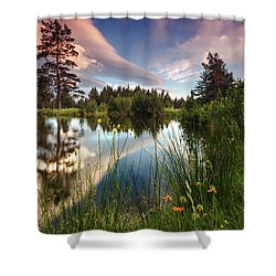 Spring Lake Shower Curtain