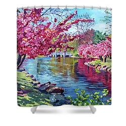 Spring Soliloquy Shower Curtain