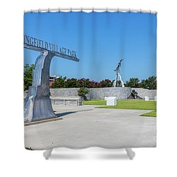 Springfield Village Park - Augusta Ga Shower Curtain