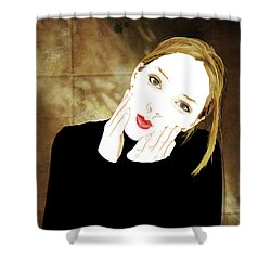 Squishyface Shower Curtain