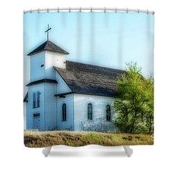 St. Agnes. Church Shower Curtain
