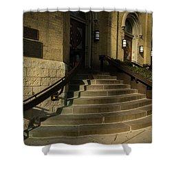 St Pete's Catholic Church Shower Curtain