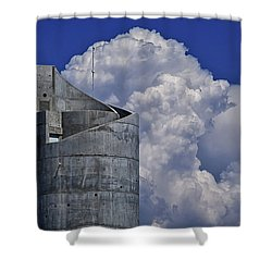 Shower Curtain featuring the photograph Stacked by Skip Hunt