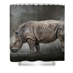 Stand Strong Shower Curtain