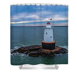Standing Watch Shower Curtain