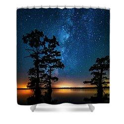 Star Gazers Shower Curtain