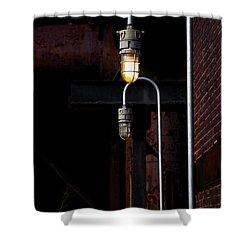 Steel City Lights Shower Curtain