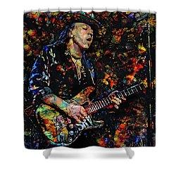 Stevie Ray Vaughan Shower Curtain