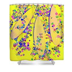 Still Surfboarding Shower Curtain