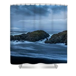 Storm At The Sea Shower Curtain