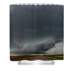 Storm Chasin In Nader Alley 008 Shower Curtain