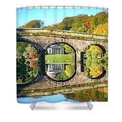 Stourhead Autumn Shower Curtain