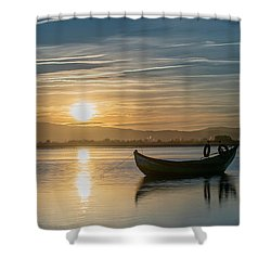 Shower Curtain featuring the photograph Strikes by Bruno Rosa