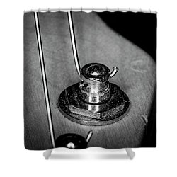 Shower Curtain featuring the photograph Strings Series 10 by David Morefield