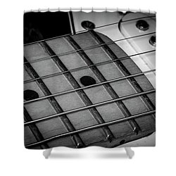 Shower Curtain featuring the photograph Strings Series 12 by David Morefield