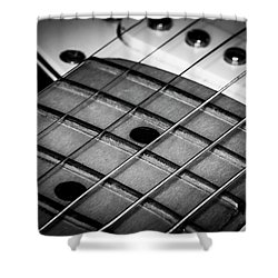Shower Curtain featuring the photograph Strings Series 13 by David Morefield