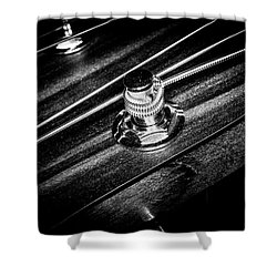 Shower Curtain featuring the photograph Strings Series 14 by David Morefield