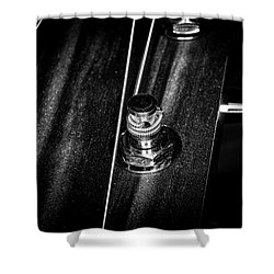 Shower Curtain featuring the photograph Strings Series 15 by David Morefield