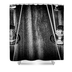 Shower Curtain featuring the photograph Strings Series 16 by David Morefield