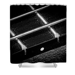Shower Curtain featuring the photograph Strings Series 17 by David Morefield