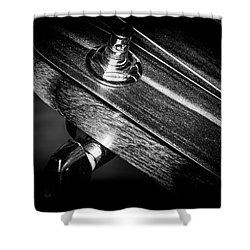 Shower Curtain featuring the photograph Strings Series 20 by David Morefield