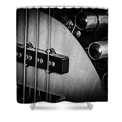 Shower Curtain featuring the photograph Strings Series 22 by David Morefield