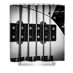 Shower Curtain featuring the photograph Strings Series 23 by David Morefield