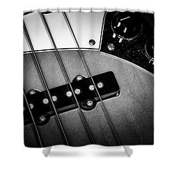Shower Curtain featuring the photograph Strings Series 24 by David Morefield