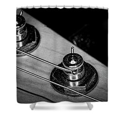 Shower Curtain featuring the photograph Strings Series 9 by David Morefield