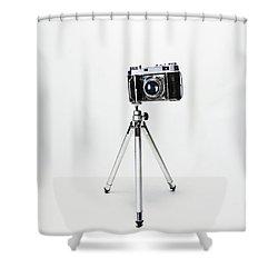 Studio. Kodak Retina 2. Shower Curtain