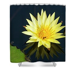 Stunning In Yellow Shower Curtain