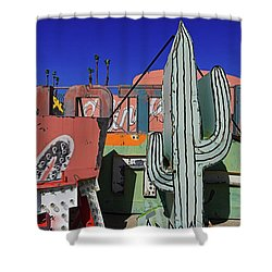 Shower Curtain featuring the photograph Succulent  by Skip Hunt