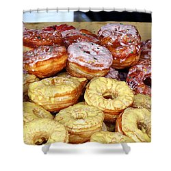 Sugar Frosted Donuts On Sale Shower Curtain