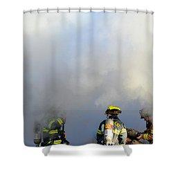 Suit Up Shower Curtain