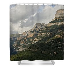 Shower Curtain featuring the photograph Summer In The Anisclo Canyon by Stephen Taylor