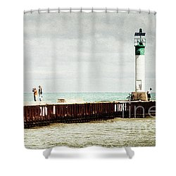 Sunny Afternoon Shower Curtain