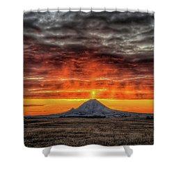 Sunday Sunrise Nov. 11, 2018 Shower Curtain