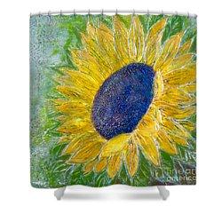 Sunflower Praises Shower Curtain
