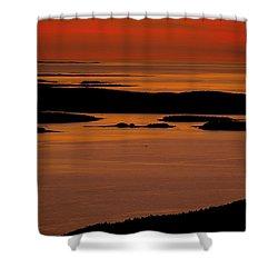 Sunrise Cadillac Mountain Shower Curtain