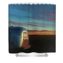 Sunrise Near Amarillo Shower Curtain