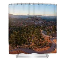 Sunrise Over Bryce Canyon Shower Curtain