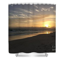 Sunset On 30a Shower Curtain