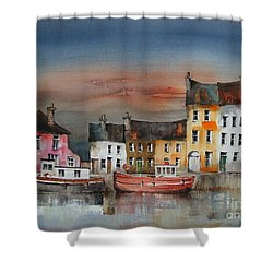Sunset On  Cloondra, Co. Longford Shower Curtain