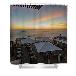Shower Curtain featuring the photograph Sunset Vibes by Bruno Rosa