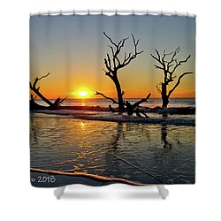 Sunsup Shower Curtain